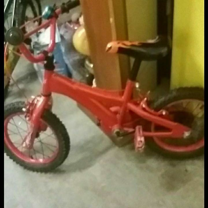 Kids bike for kids aged 4