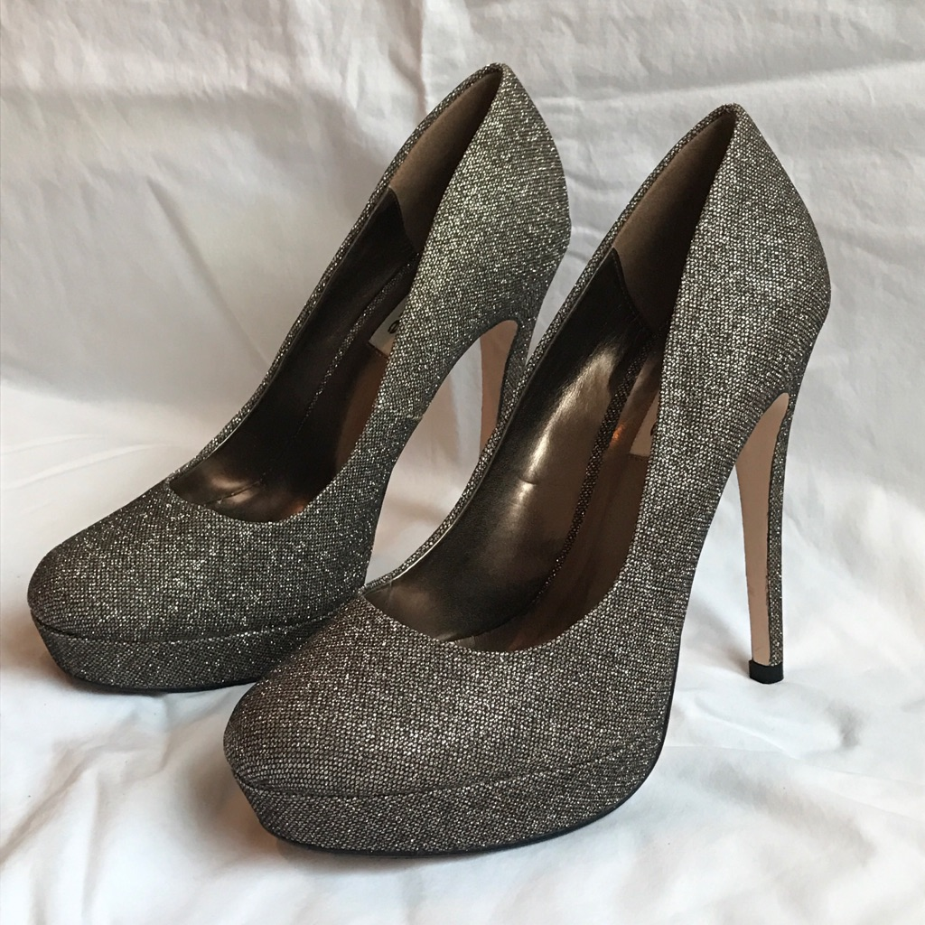 NEW Dune Metallic Heels