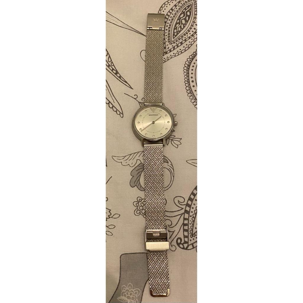 Genuine Emporio Armani AR-11128 mesh strap watch