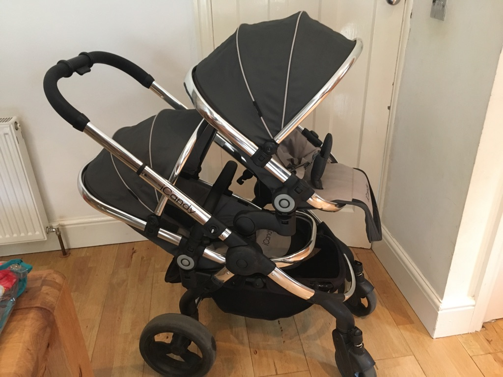 iCandy Peach Blossom Double Buggy / Travel System