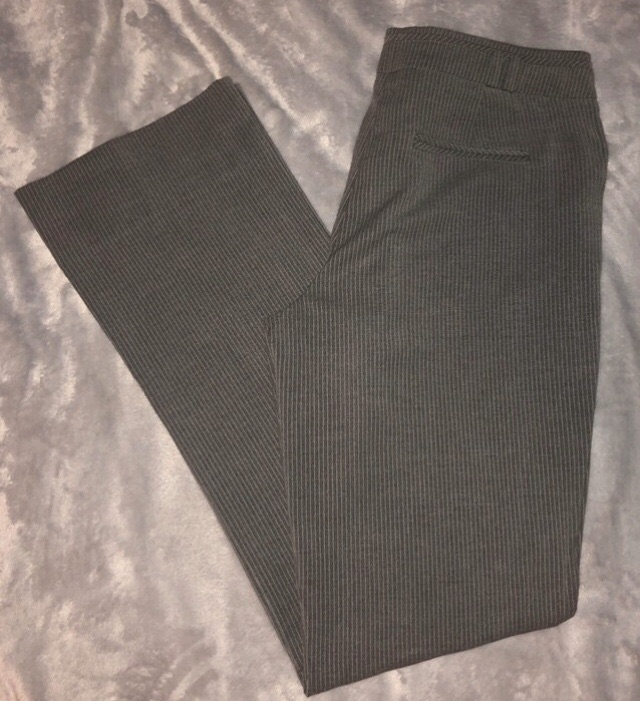 Orsay Pin Strip Straight Leg Trousers