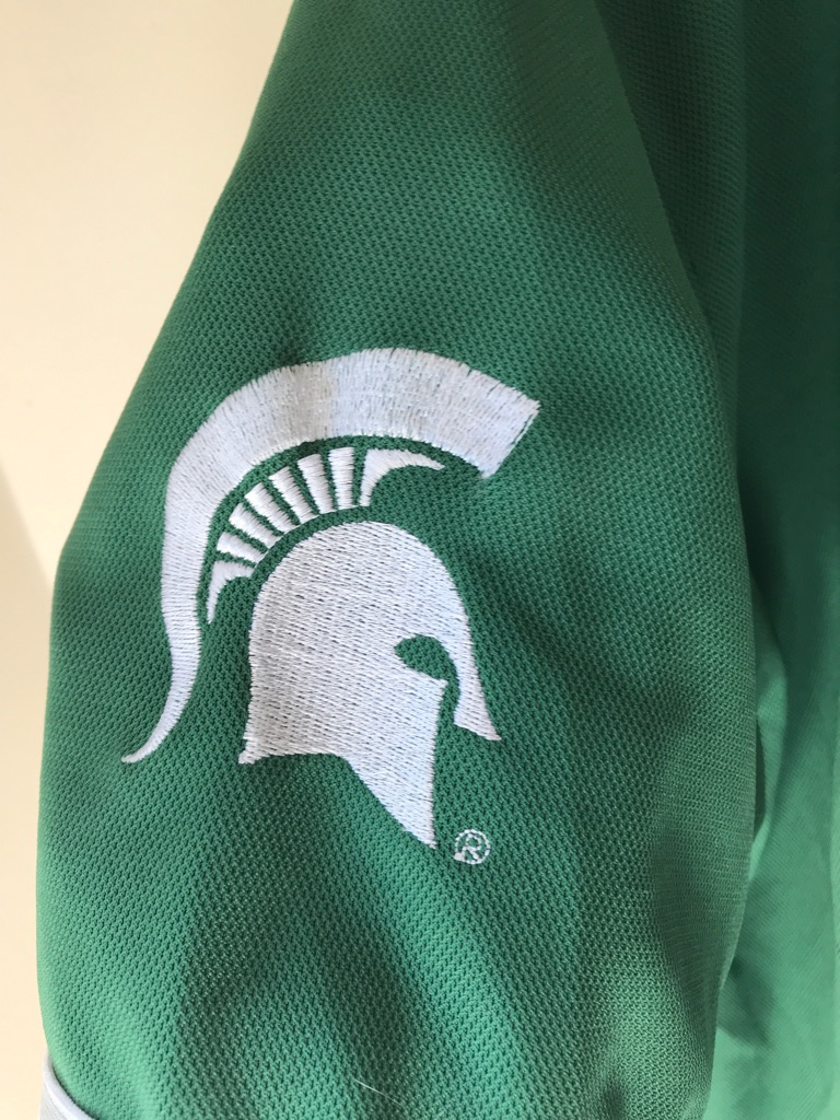 Michigan State Spartans basketball jersey