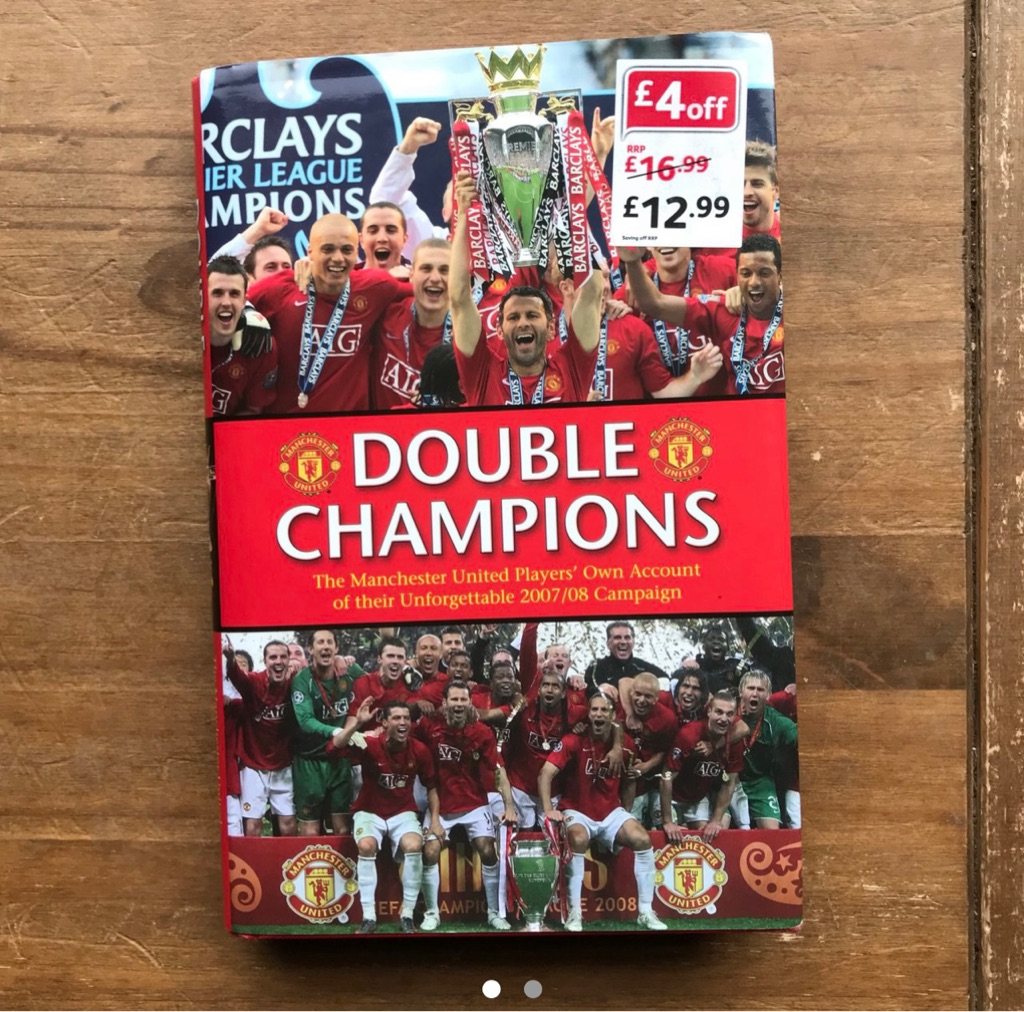 Manchester United double champions book