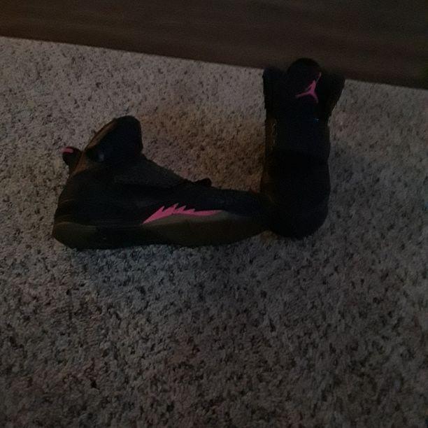 Pink n Black Jordons