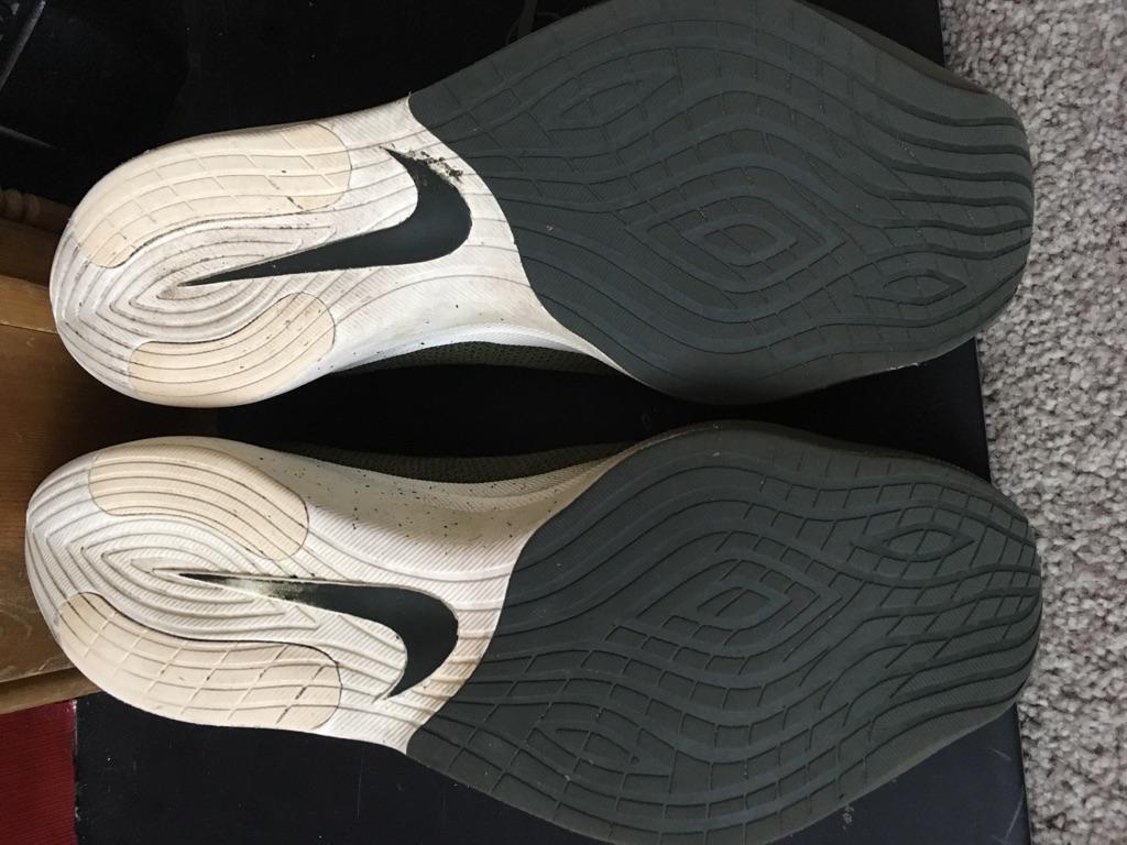 Men's Nike React Vapor Street Flyknit - size UK8.5 US9.5