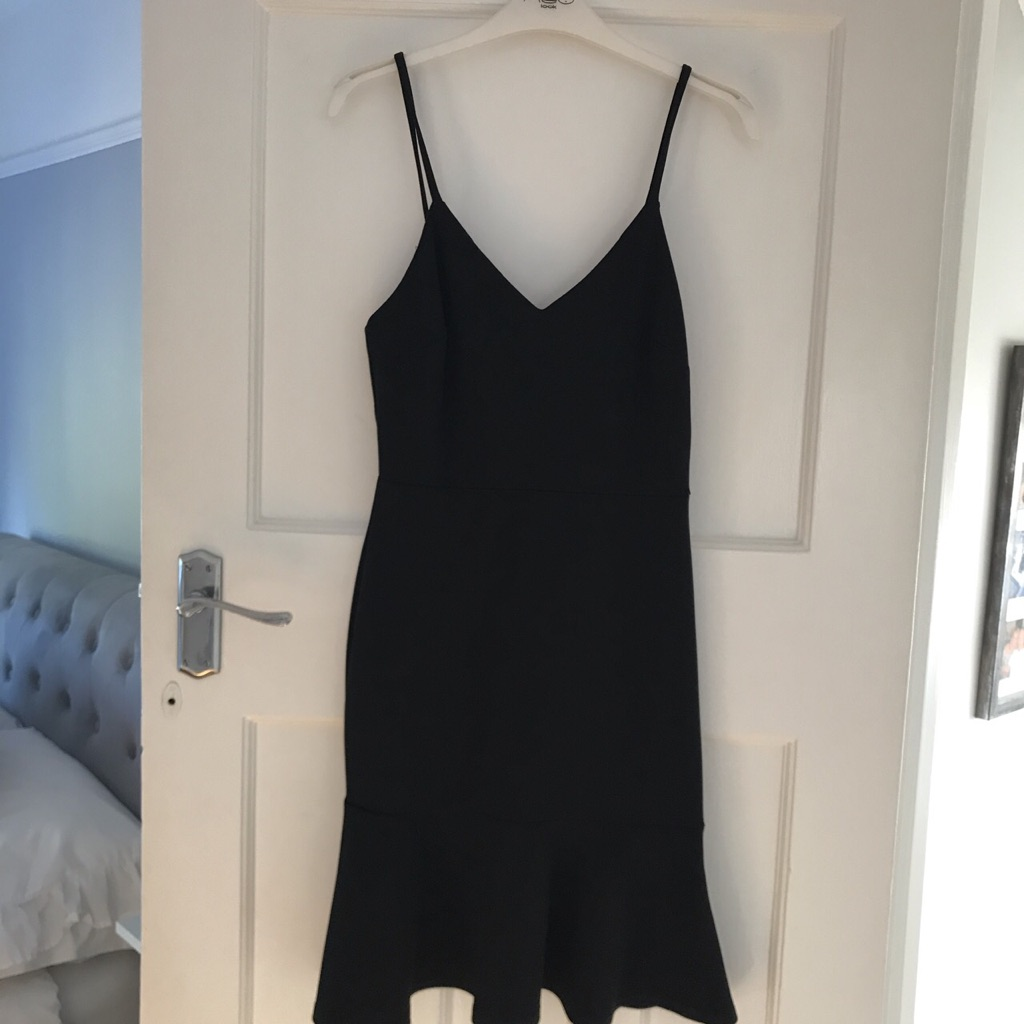 New look black cocktail dress