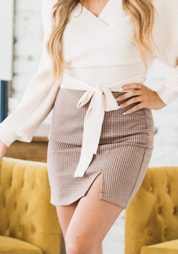 Mini skirt 20% off using my code below ⬇️