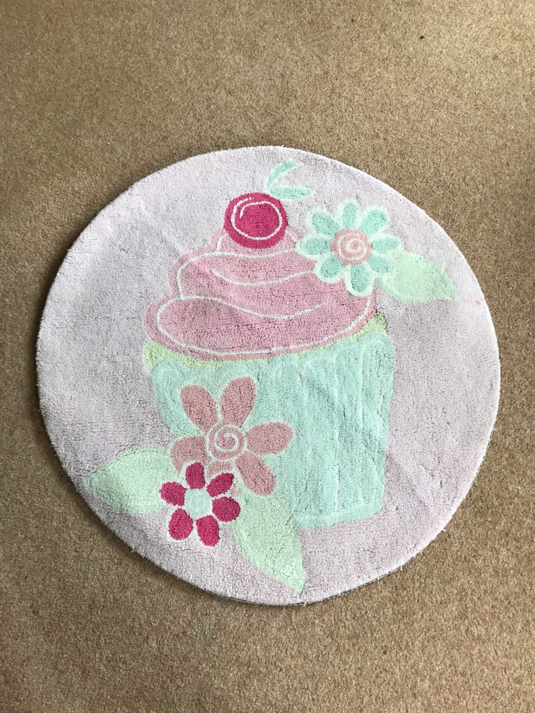 Cupcake rug by NEXT