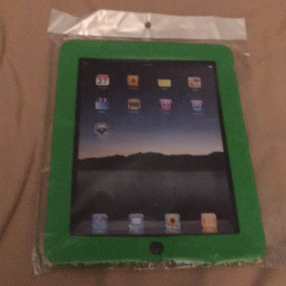 Ipad Case Cover Silicone-Green