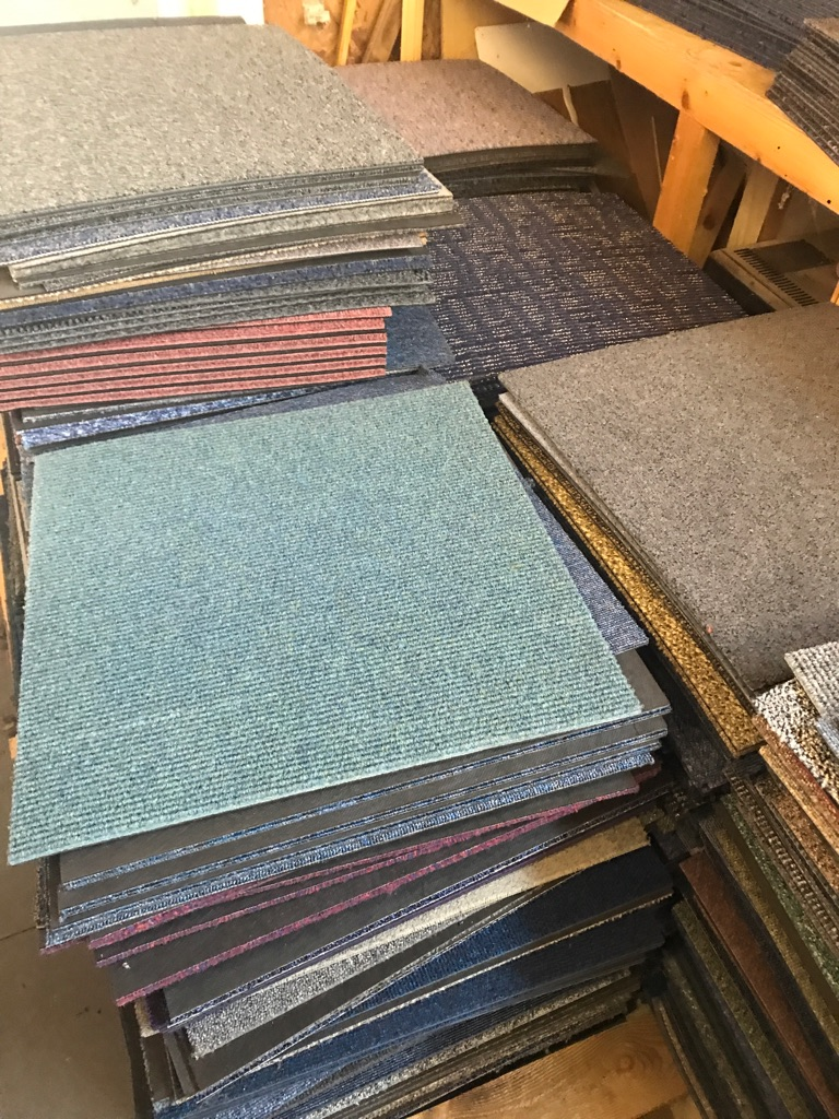 New mix and match carpet tiles