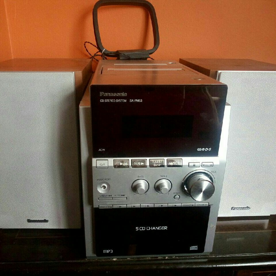 Stereo Panasonic working casset