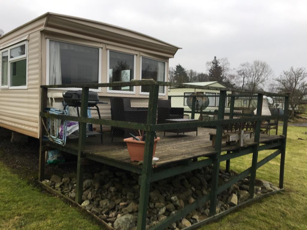 20 Berth Static Caravan on Ballintuim Caravan Park, Bridge of Cally ...