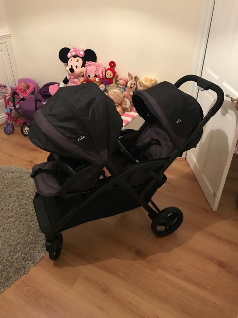 Joie Evalite Double Tandem Stroller/pram/buggy