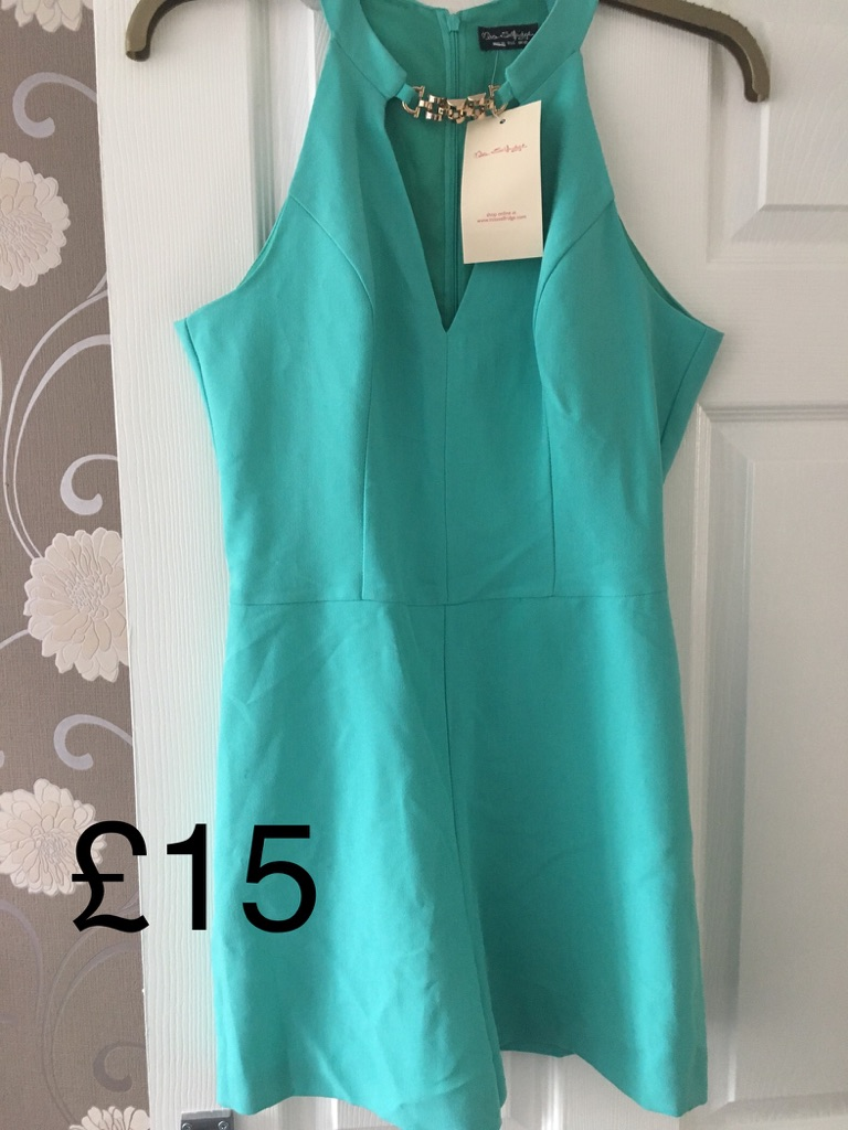 Miss Selfridge playsuit new size 10