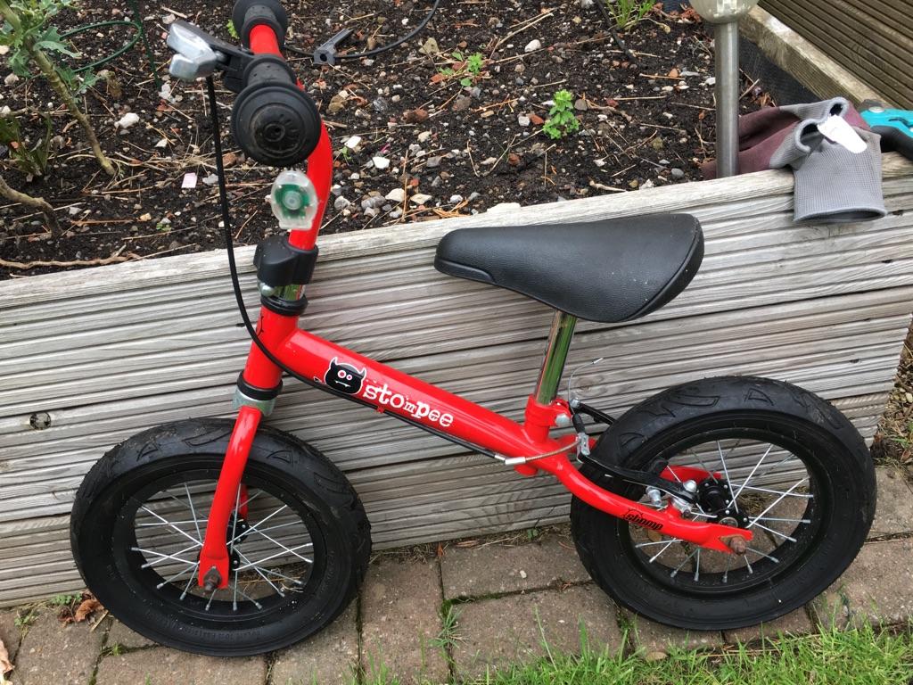 Stompee balance bike