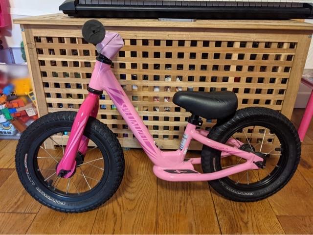 Balance bike hardly ever used