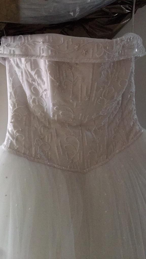 Wedding dress(David's)