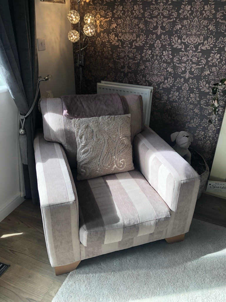 Sofa x2 and matching armchair