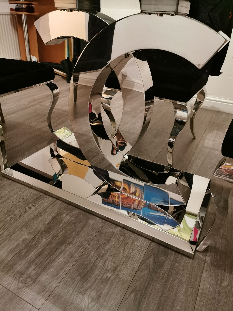 Chanel dining table and chairs