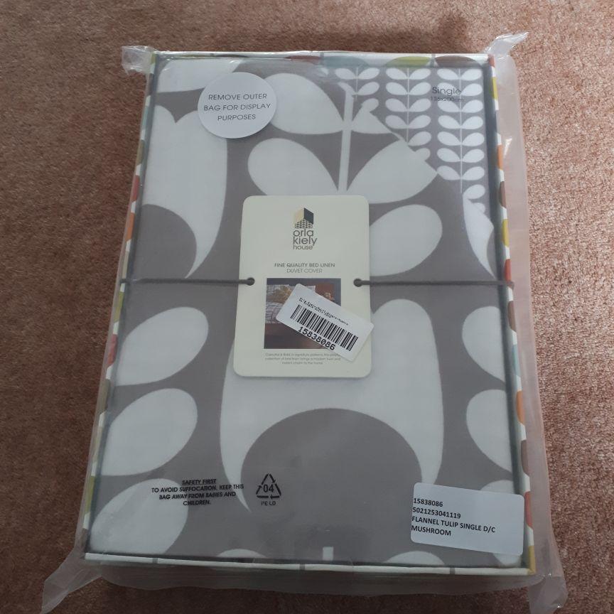 Orla Kiely Duvet Cover and Pillowcases