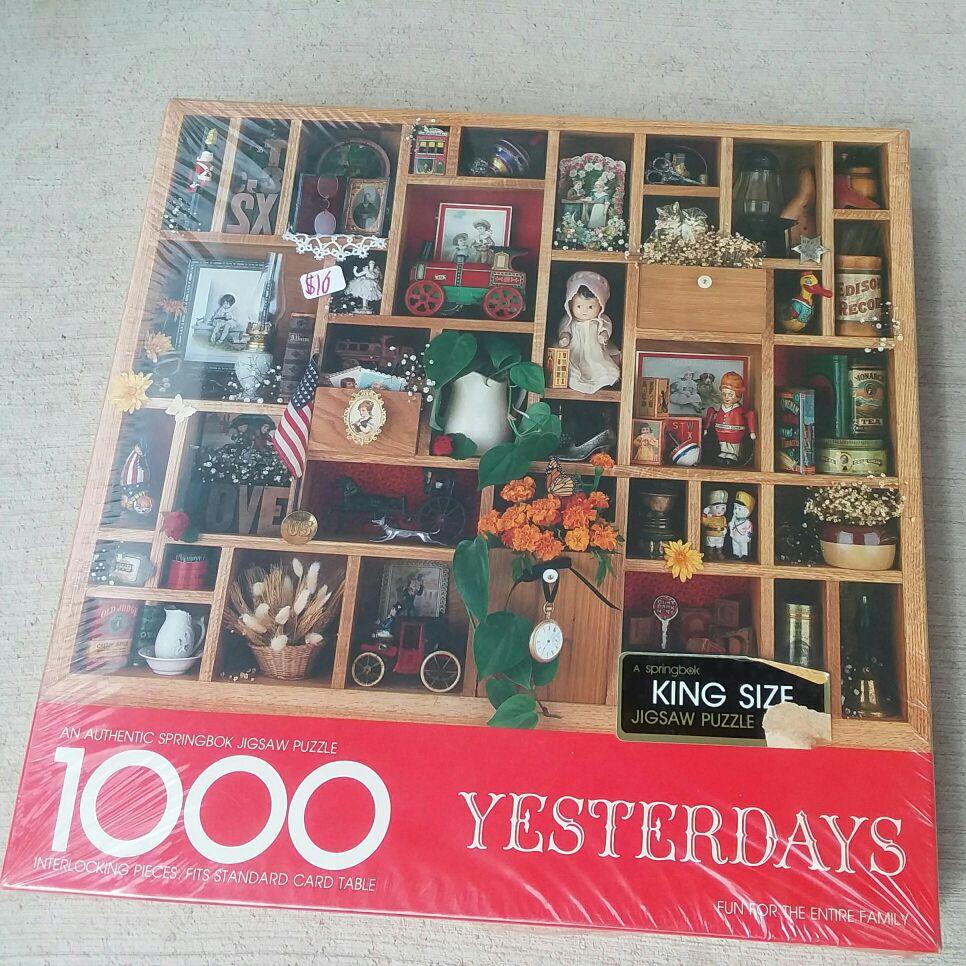 1000 piece springbok puzzle