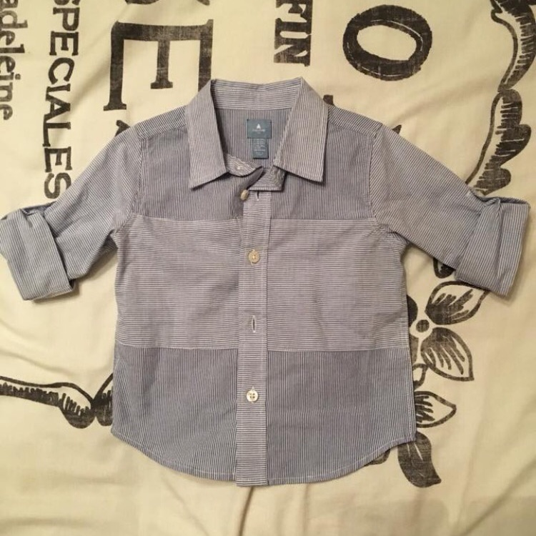 Brand new no tags GAP shirt 18-24 mths