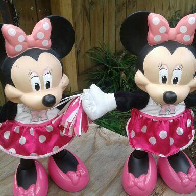 Minie mouse dolls