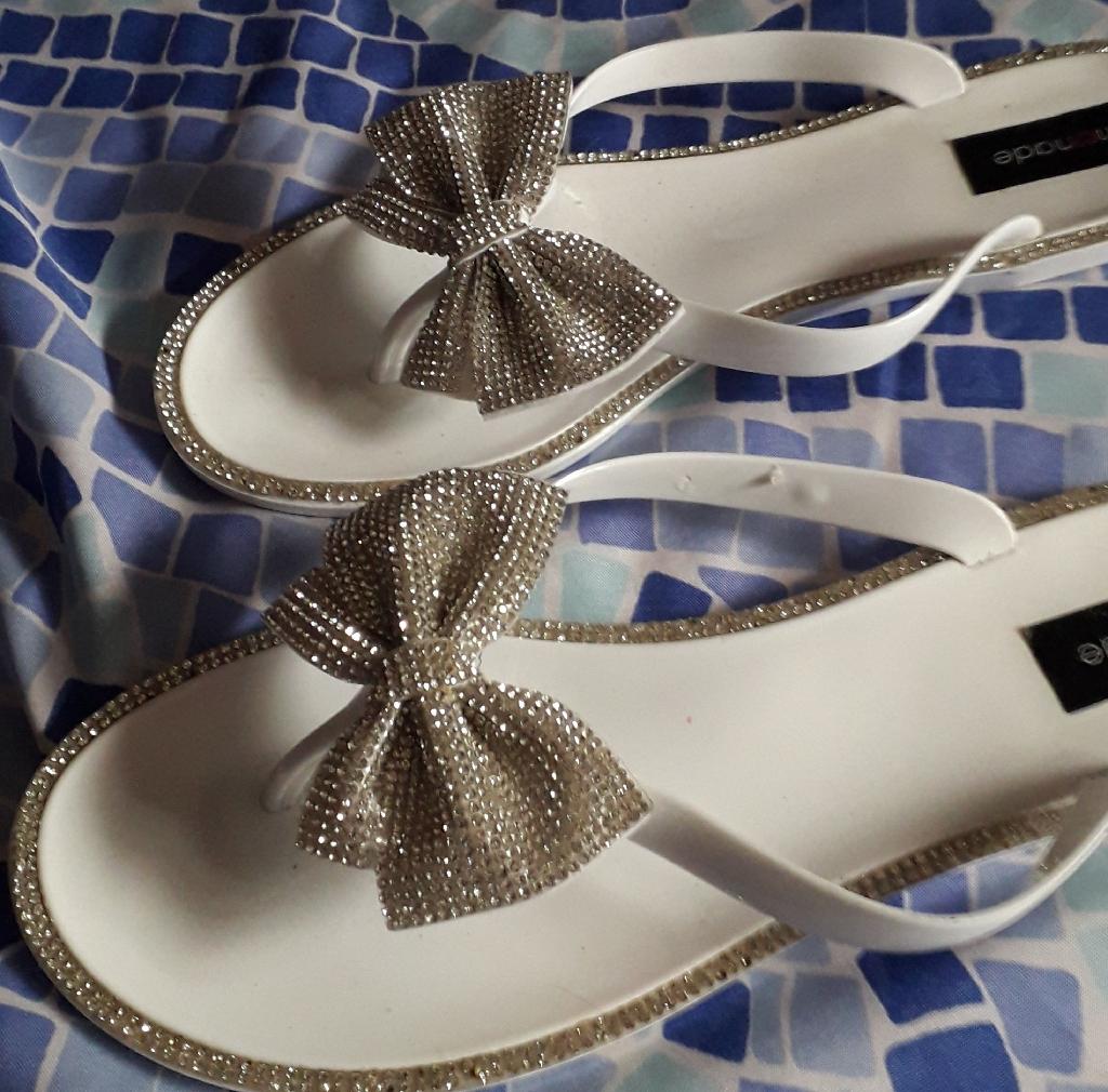 Lemonade diamante sandals