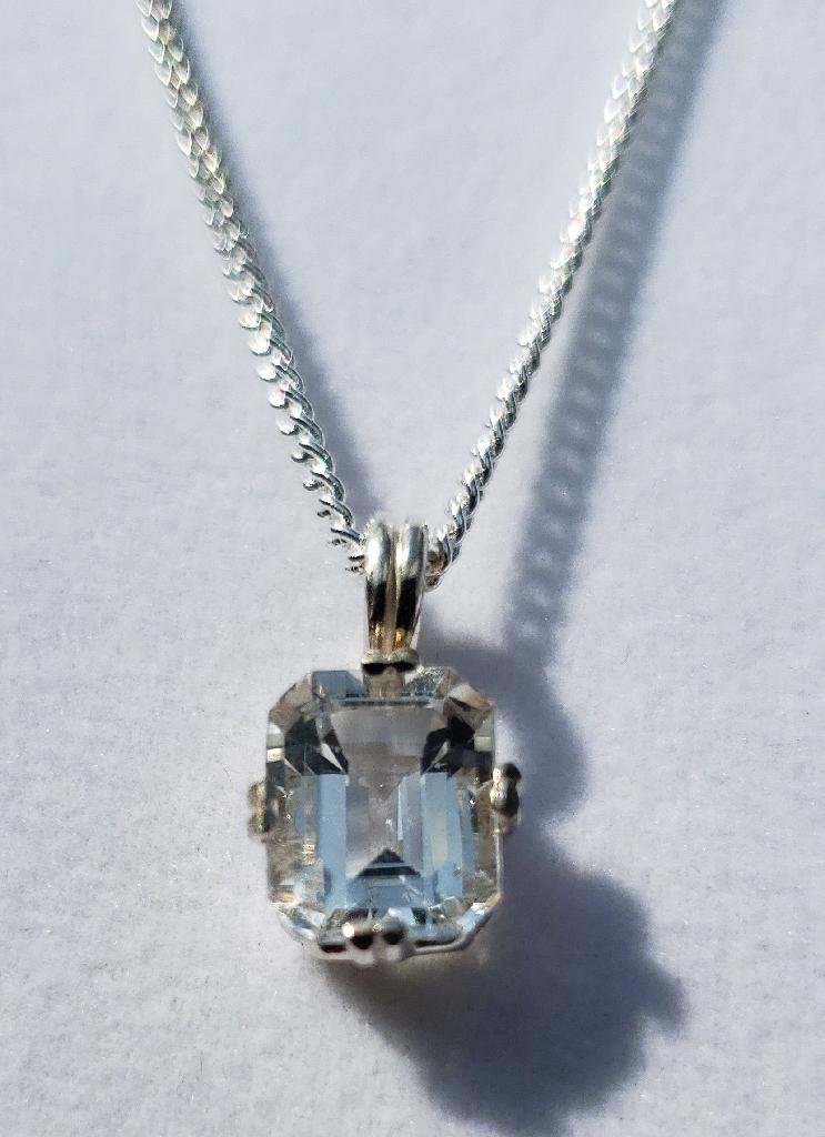 Topaz Sterling Silver Necklace