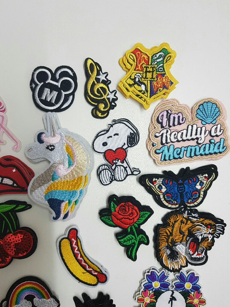 Brand New Embroidered Sew On Patches Accessories