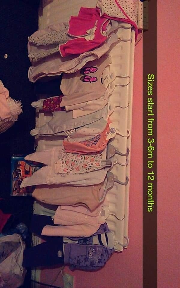 Bby clothes ..can sell SEP or as bundle