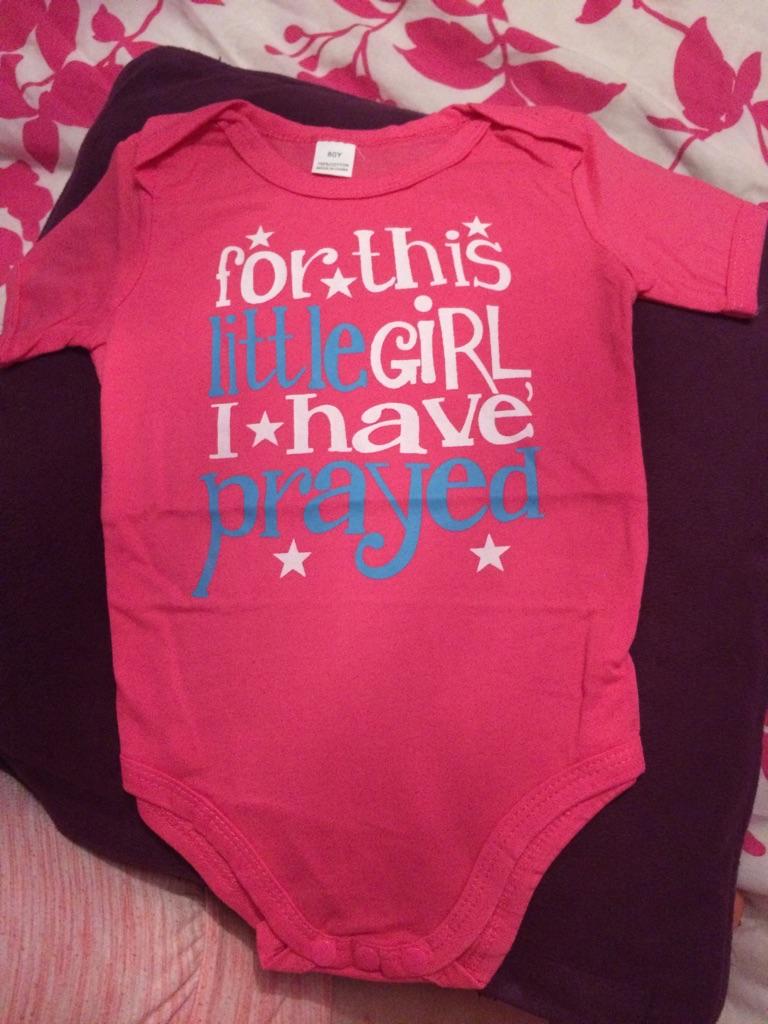 Girls newborn vest