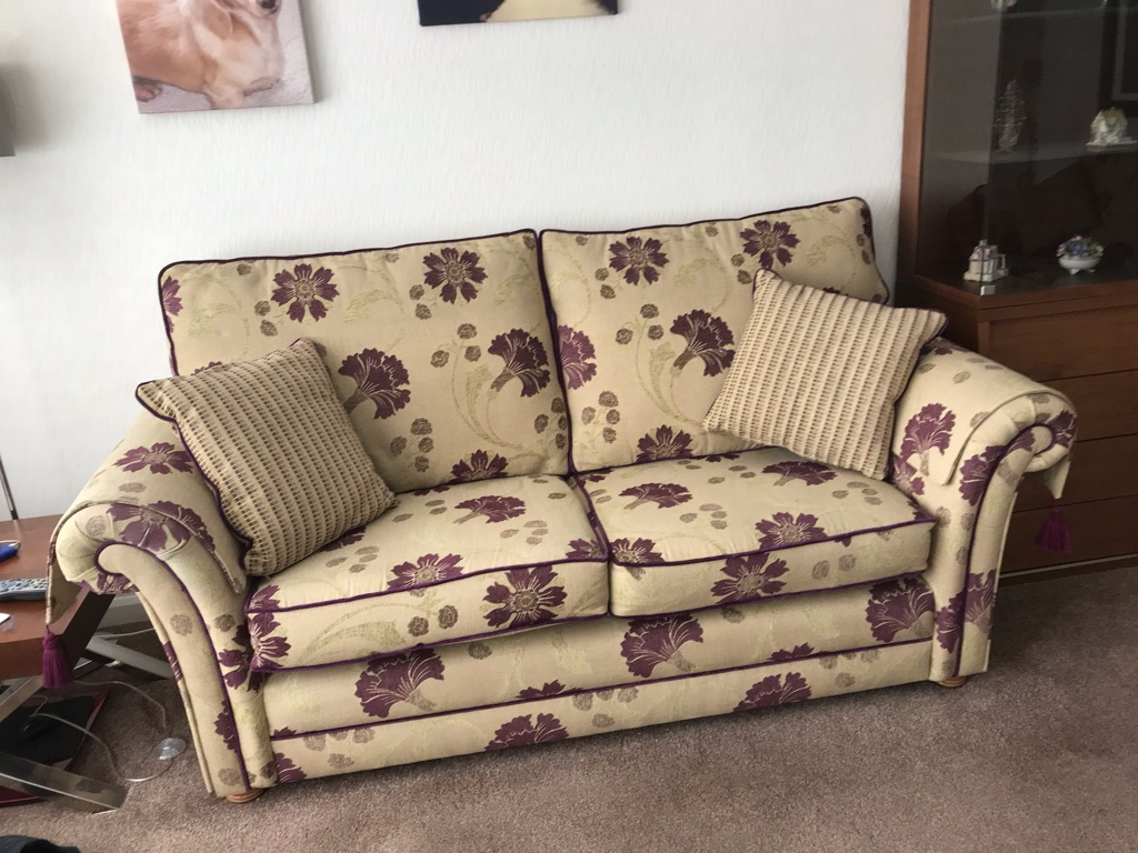 3 & 2 seater settees plus armchair