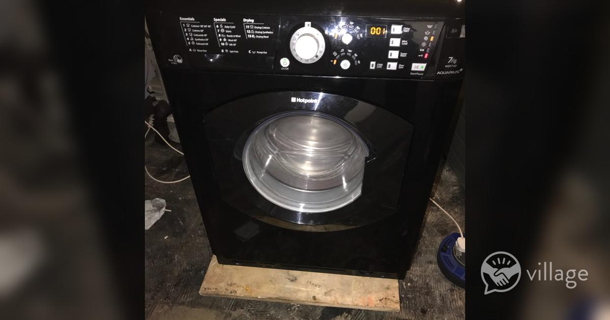 Hotpoint washer dryer manual wdf740