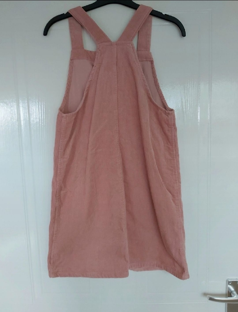 Girls pink slip dress