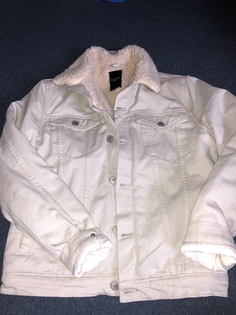 New look mens denim jacket