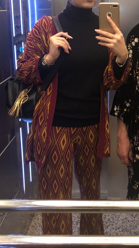 KONTATTO . AUTHENTIC. BEAUTIFUL CARDIGAN + PANTS 😍
