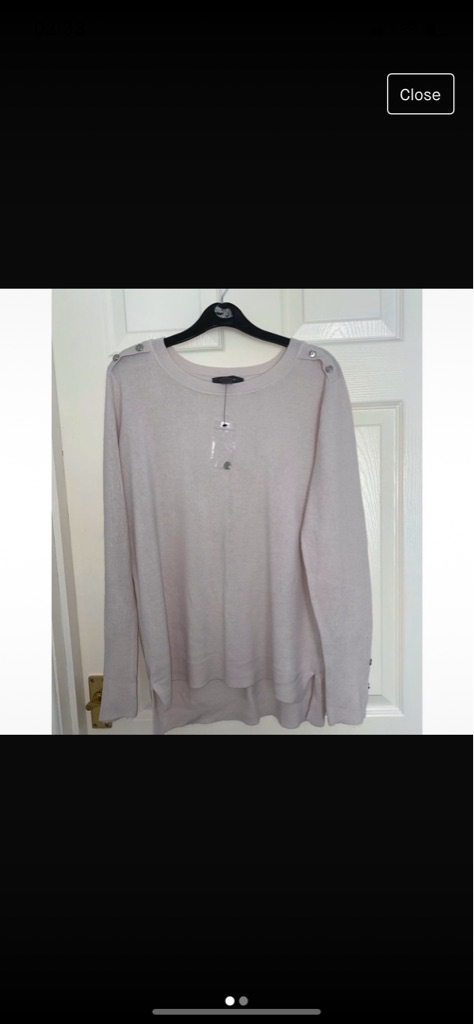 Light pink Primark long sleeved top