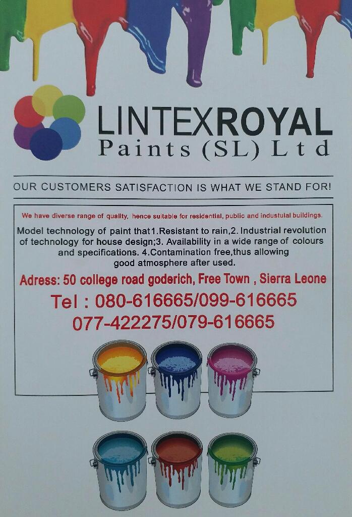LINTEX ROYAL PAINT