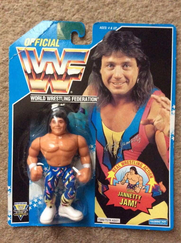 WWF 1994 Marty Jannetty MOC
