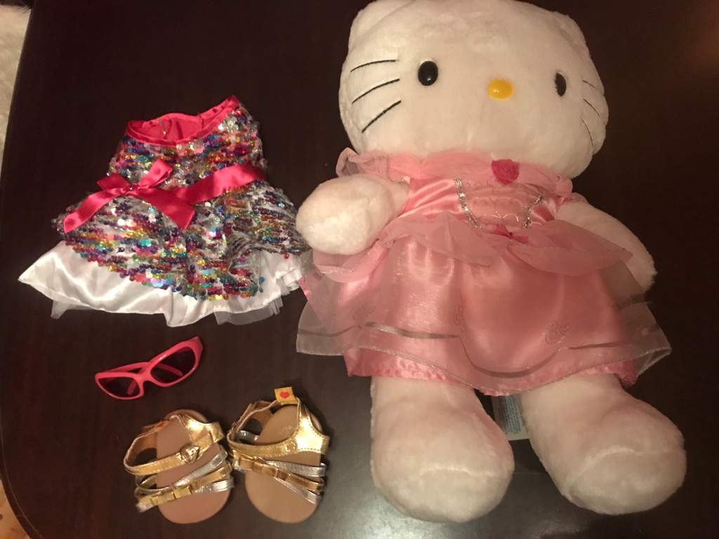 A Beautiful Build A Bear Hello Kitty
