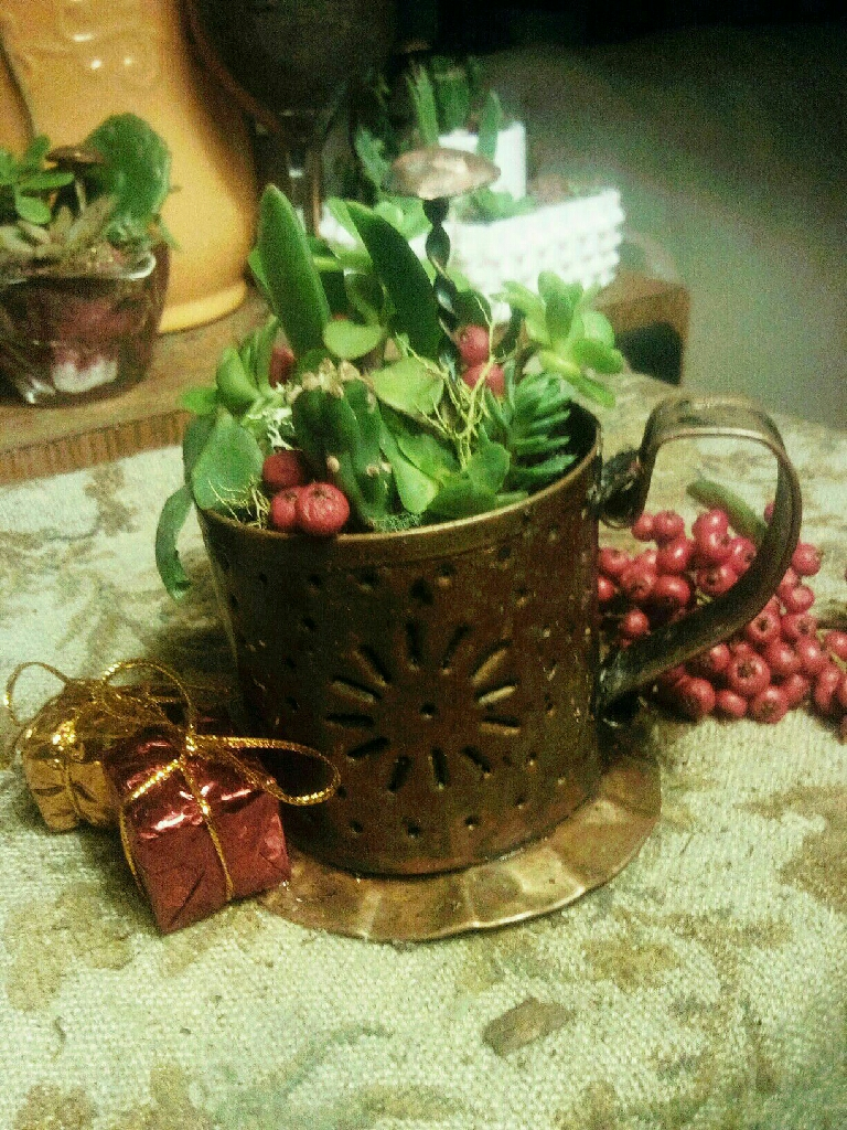 Altzgraff Village authentic copper succulent pot!