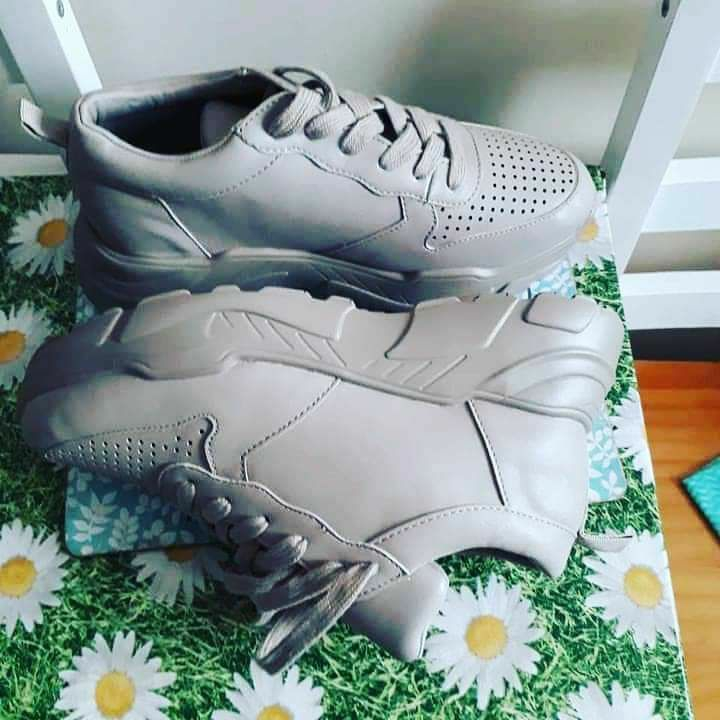 V By Very Aida Colourfoold Chunky Trainers