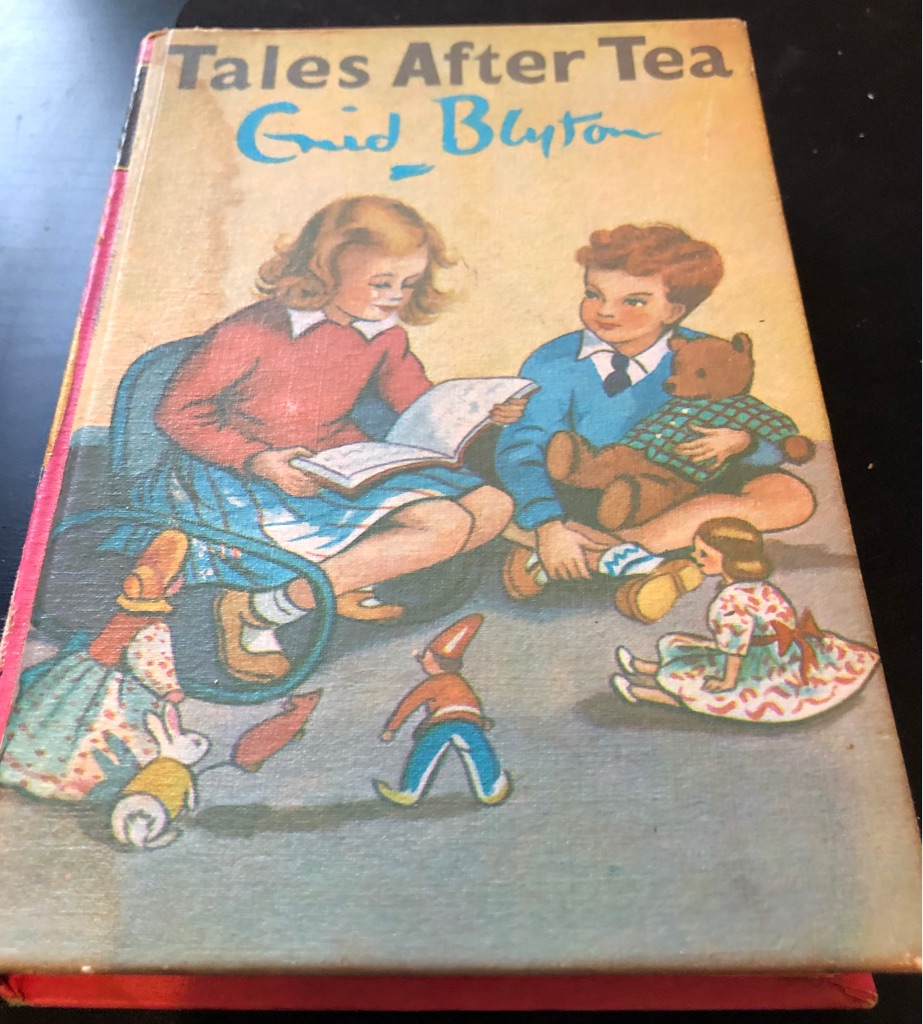 ENID BLYTON TALES AFTER TEA BOOK