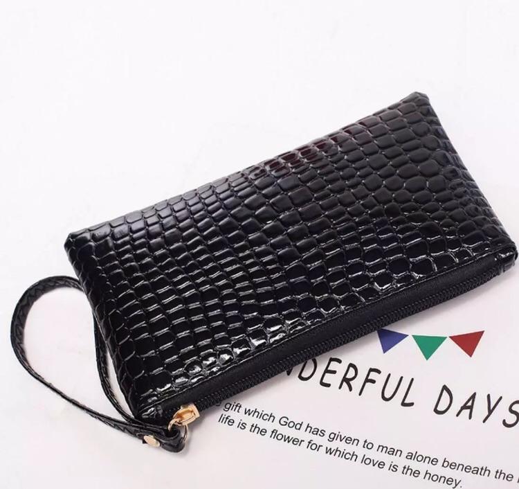 Ladies black coin bag purse