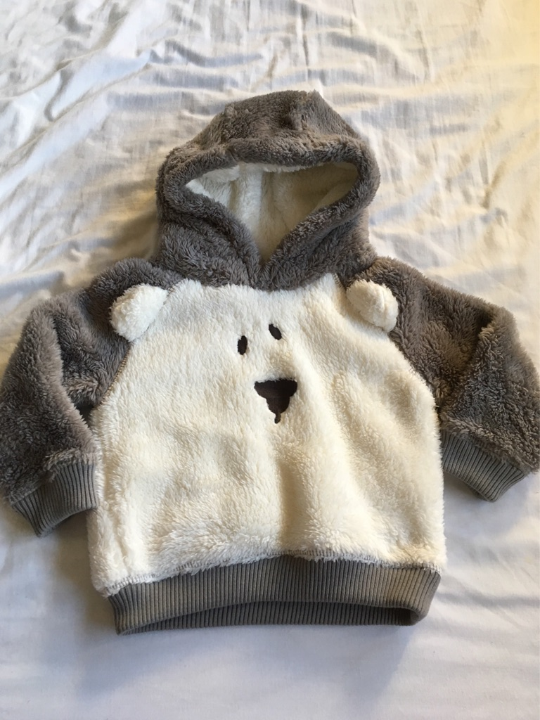 Fleece jumpers 9-12 months