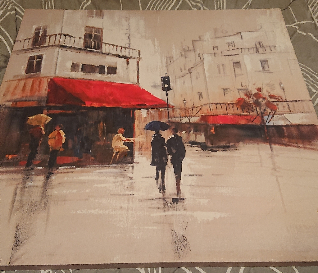 2x Wall Canvases For Sale
