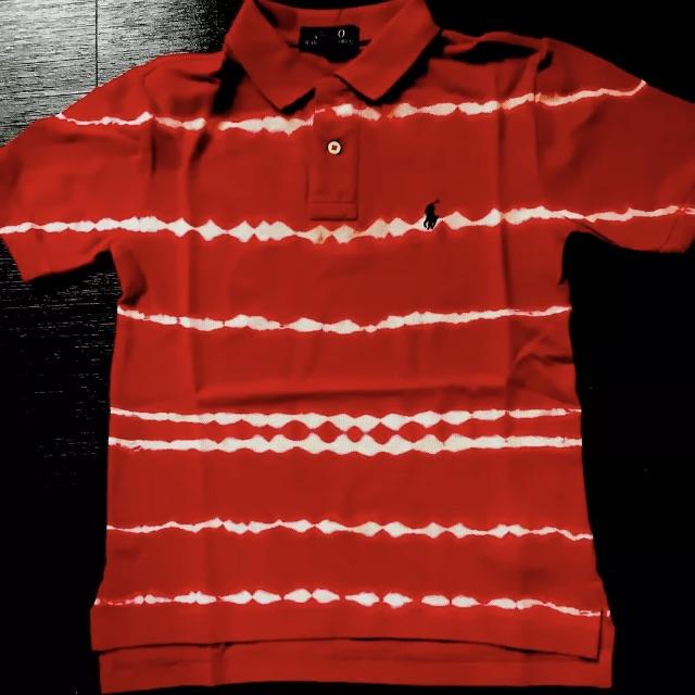 Ralph Lauren Red Mix Tie Dye Top Size S (8) NWT $45