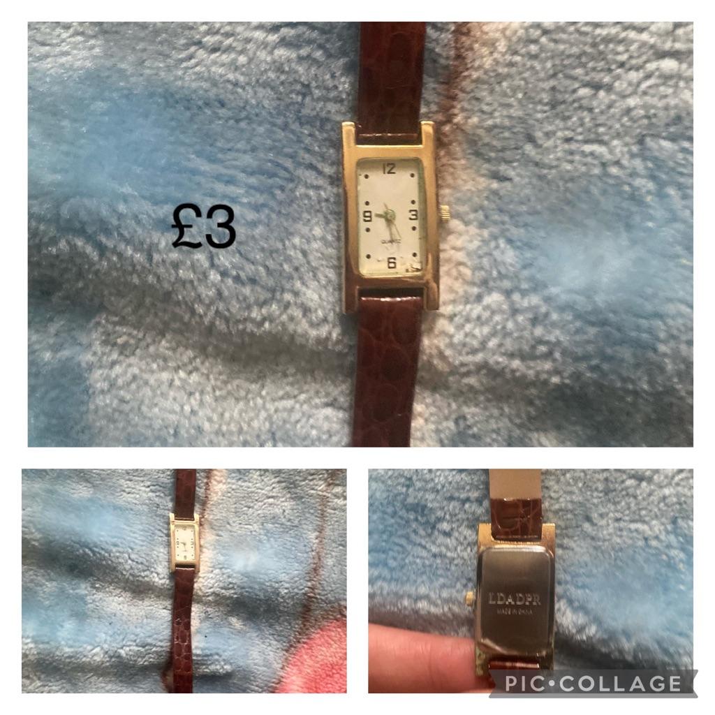 £3 each watch's