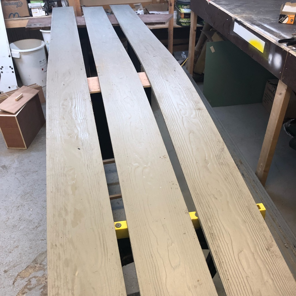 Cladding boards